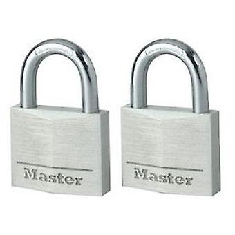 Masterlock Padlock 40 Mm Breite Vollaluminiumkörper (DIY , Handwerksmaterial)