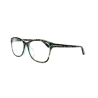 Tom Ford FT5404-F-56A optiek Unisex brillen blauw bruin mix frames