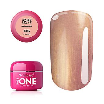 Base one Metallic Peach 5 g UV-gel