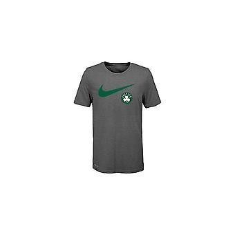 Nike Nba Boston Celtics Drift Swoosh Logo Youth T-shirt