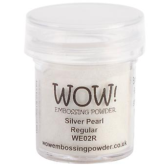 Wow! Embossing Powder 15Ml Silver Pearl Wow We02r