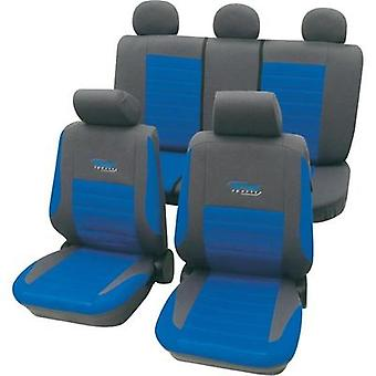 Seat covers 11-piece cartrend 60120 Active Polyester Blue