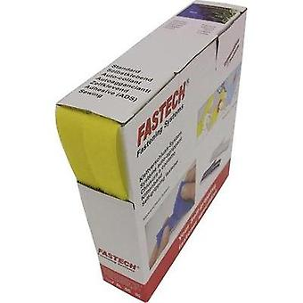 Hook-and-loop tape sew-on Hook and loop pad (L x W) 10 m x 20 mm Yellow Fastech B20-STD020810 10 m