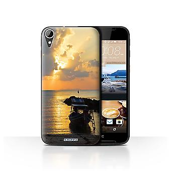 STUFF4 Case/Cover for HTC Desire 830/Boat/Sunrays/Thailand Scenery