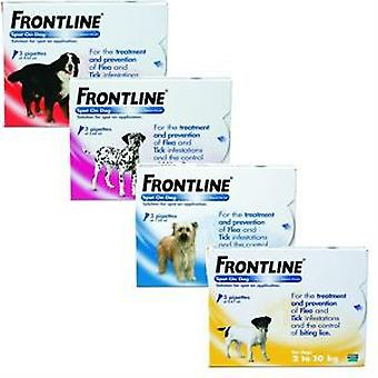 Frontline Spot On Dog 3 Pipettes (Garden , Animals , Dogs , Anti parasitic)