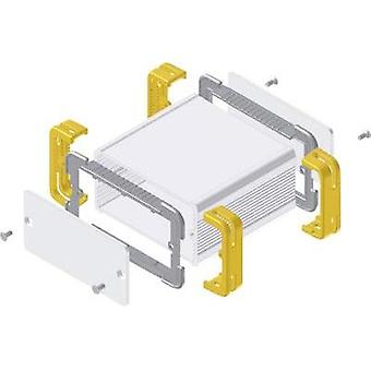 Treaded casing 114 x 63.6 x 33 Aluminium Ecru, Yellow Fischer Elektronik FR 55 25 100 ME 1 pc(s)