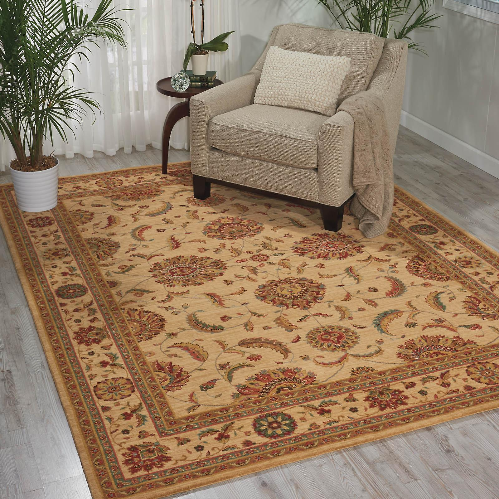 Living Treasure Rugs By Nourison Li04 In Ivory