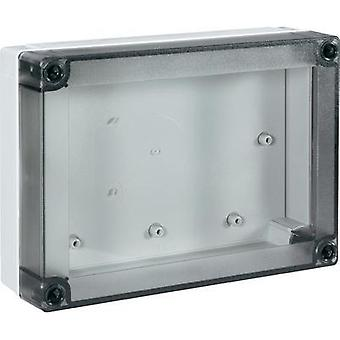 Universal enclosure 180 x 130 x 50 Polycarbonate (PC) Light grey (RAL 7035) Fibox PC 150/50 LT 1 pc(s)