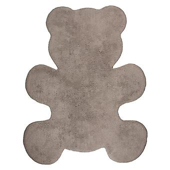 Nattiot Little Teddy Kids Rug Brown