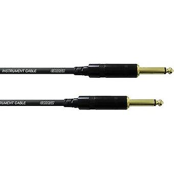 Cordial CCI 9 PP 6.3 mm Jack Instrument cable Black