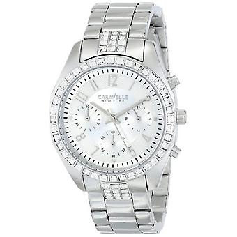 Caravelle by Bulova Women's 43L171 Analog Display Japanese Quartz White Watch