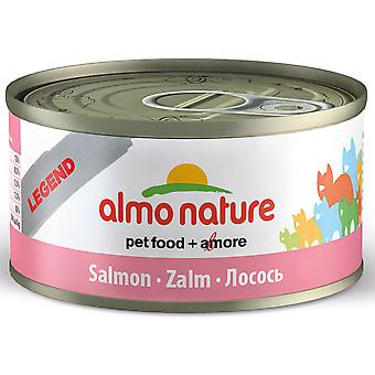 Almo Nature Hfc Natural Cat Adult Salmon 70g (Pack of 24)