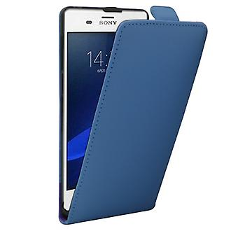 Flip Pocket Deluxe blue for Sony Xperia Z3 compact D5803 M55W