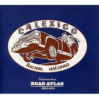 Calexico - markeringer fra Road Atlas 1998-2011 [CD] USA import
