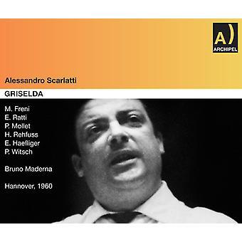 A. Scarlatti - Scarlatti: Griselda (27/09/1960) [CD] USA importerer