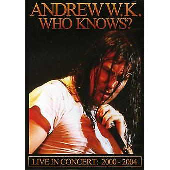 Andrew W.K. - Who Knows-Live 1992-2004 [DVD] USA import