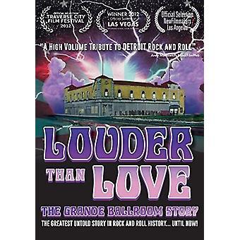 Lauter als die Liebe: Grande Ballroom Geschichte [DVD] USA importieren
