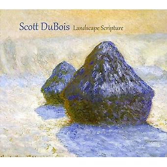 Scott Dubois - landskab Skriften [CD] USA import