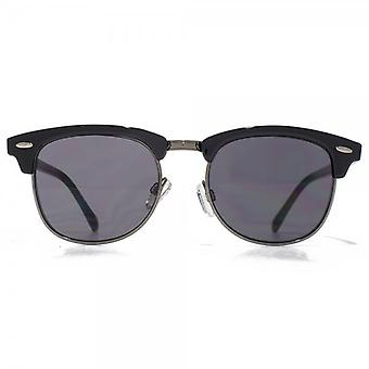 Glare Eyewear Cairo Clubmaster Sunglasses In Black