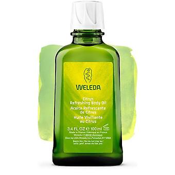 Weleda Citrus Oil For The Body 100 Ml (Cosmetics , Body  , Facial , Moisturizers)
