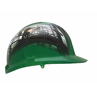 Scaffold Themed Hard Hat