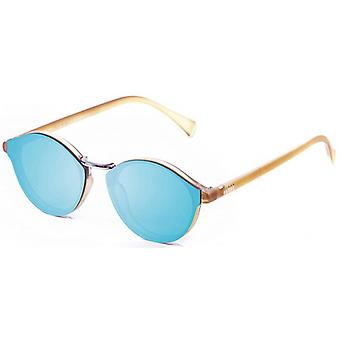 Ocean Loiret Flat Lense Sunglasses - Sky Blue/Brown