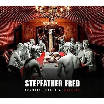 Stedfar Fred - Dummies dukker & Masters [CD] USA importerer