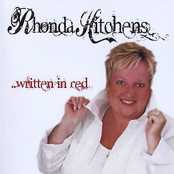 Rhonda Hitchens - geschrieben in Rot [CD] USA import