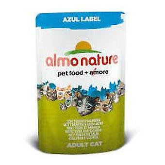 Almo nature With Tuna And Salmon (Cats , Cat Food , Wet Food)