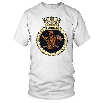 Royal Navy HMS Sentinel Herren-T-Shirt
