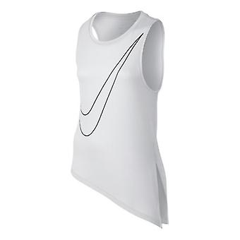 Nike Side Tie top girls white 727996-100