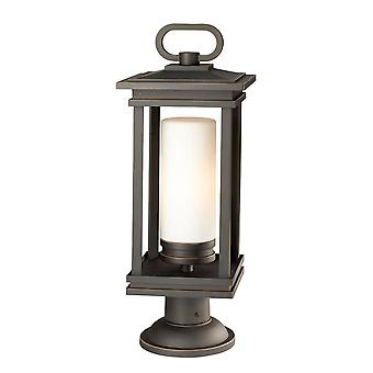 Elstead KLSOUTH HOPE3L South Hope Pedastal Light Rubbed Bronze