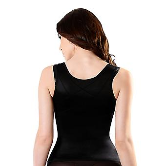 Esbelt ES5750 Women's Black Firm/Medium Control Slimming Shaping Camisole Top