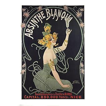 Absinthe Blanqui Nover Poster Poster Print