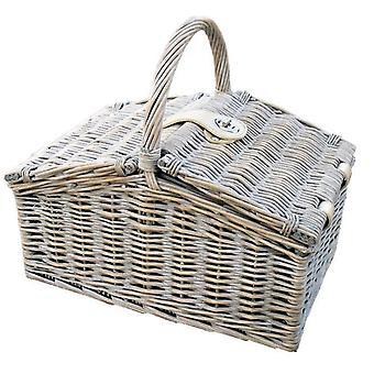 Provence Medium Farmhouse Empty Picnic Basket