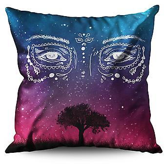 Face Stylish Cool Linen Cushion Face Stylish Cool | Wellcoda