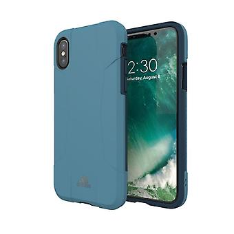 Adidas originals dual layer hard case for Apple iPhone X / 10 5.8 case cover blue