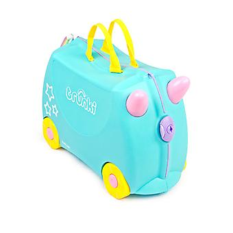 Una Trunki-Ride-on unicorno