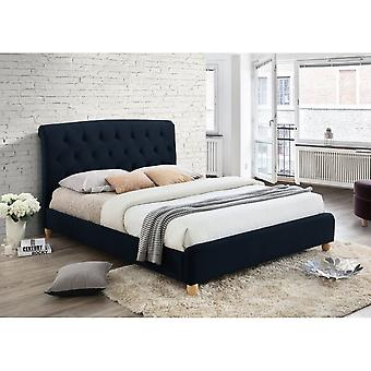 Birlea Brompton Double Bed In Midnight Blue