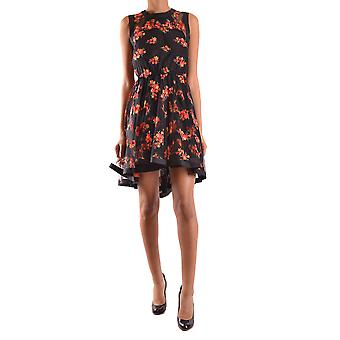 Philosophy ladies A04407182130 black/red polyester dress