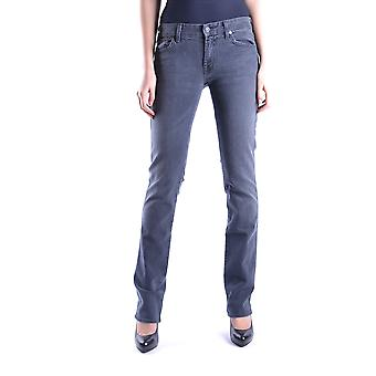 7 for all mankind ladies MCBI004022O Blau cotton of jeans