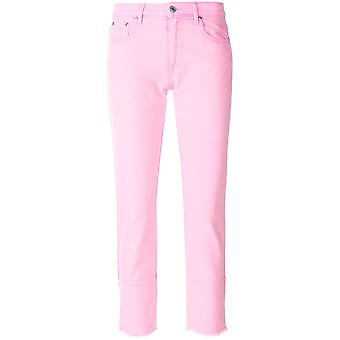Msgm women's 2441MDP40L18429412 pink cotton of jeans