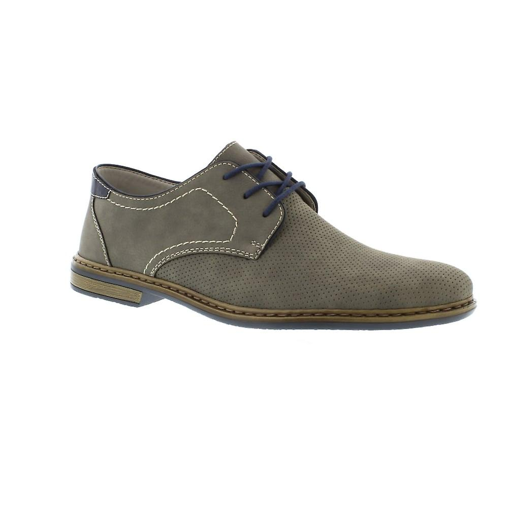 Rieker 134A7 - 40 Cement/N (Grey) Mens Shoes