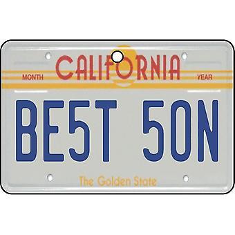California - bästa Son registreringsskylt bil luftfräschare