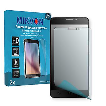 Alcatel One Touch Idol X 6040 Screen Protector - Mikvon Armor Screen Protector (Retail Package with accessories)