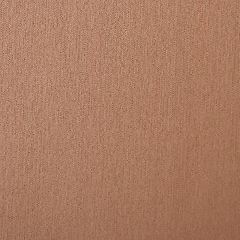 Premium Plain Flat Wallpaper - Stria Design - Toffee Brown - 59036