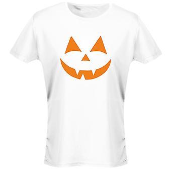 Halloween Original Face Costume Fancy Dress Halloween Womens T-Shirt 8 Colours (8-20) by swagwear