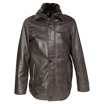 Needles Mens Leather Jacket
