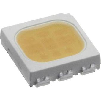 SMD LED PLCC6 Warm white 5900 mcd 120 ° 20 mA
