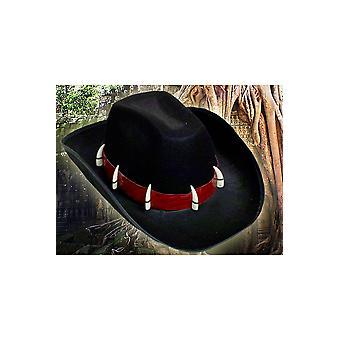 Hoeden Cowboy hoed zwart Crocodile Dundee